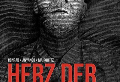 """graphic novel: Hirnstorff Verlag: Adaption von """"Herz der Finsternis"""""""