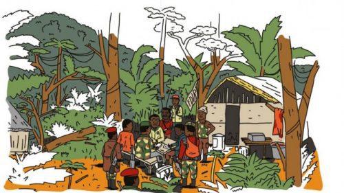 Reportagecomic über Folgen des deutschen Kolonialismus