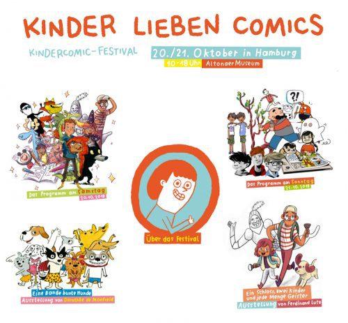 Comics für den Nachwuchs in Hamburg