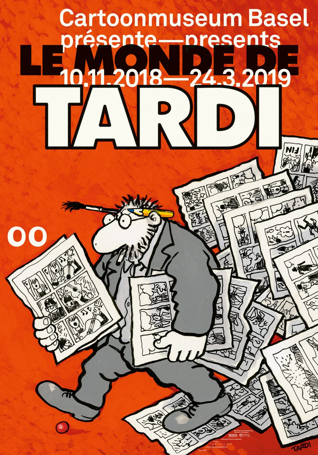Tardi, Cartoonmuseum, Ausstellung
