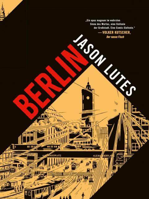 Jason Lutes auf Deutschlandtour
