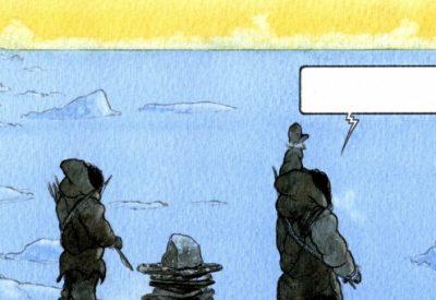 quanga, nuka godtfredsen, groenland, graphic novel